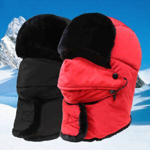 Regatta Mens Halian Fleece Lined Waterproof Winter Walking Trapper Hat RG3848