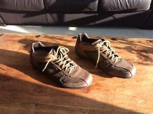 de cuero Respira y Zapatos 7 Geox ante 41 Hombres talla 7Sqwt6xI