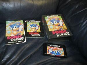 Sonic the Hedgehog Sega Genesis Game with Booklet