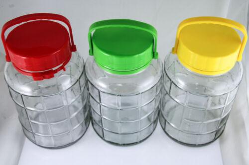 Gurkenglas Einmachgläser 5//8//10 l aus Glas mit Deckel Einmachglas