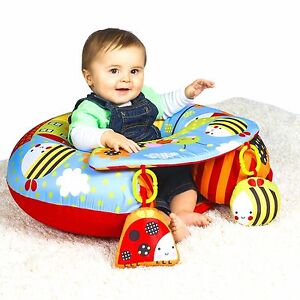 Red-Kite-Sit-Me-Up-Padded-Inflatable-Baby-Activity-Seat-Support-Tray-amp-Toys