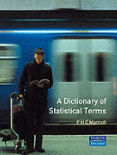 Dictionary of Statistical Terms Hardcover F. H. Marriott