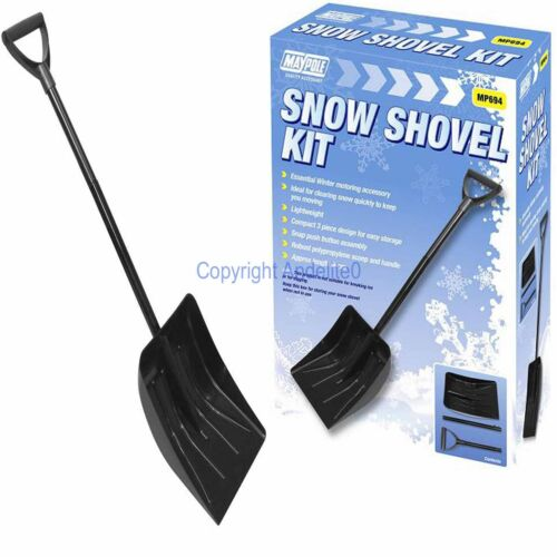 Snow Shovel Spade Scoop Ice Collapsable Winter Drive Car Clearing Defrost tool