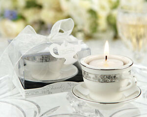 image is loading 50 mini porcelain teacup tea light candle wedding