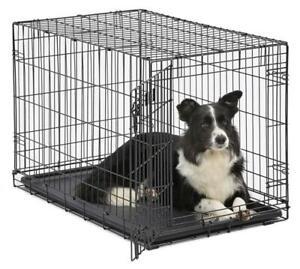 MidWest-Homes-for-Pets-Dog-Crate-iCrate-Door-Single-amp-Double-Door