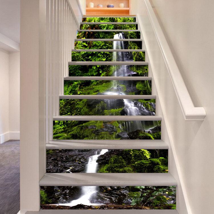 3D Klippe Berg 642 Stair Risers Dekoration Fototapete Vinyl Aufkleber Tapete DE
