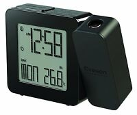 Oregon Scientific Projection Atomic Clock + Indoor Temperature (black),