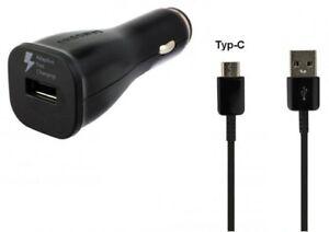 Original-Samsung-EP-LN915-Auto-Ladegeraet-Schnellladegeraet-KFZ-S8-S8-Plus-USB-C