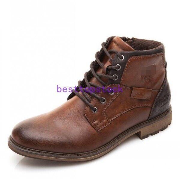 Para hombre son botas Botines de hombre para vestir social elegantes Tobillo botas Sz