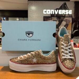 Details about Converse X Chiara Ferragni One Star Platform Sneakers Shoes 562026C Sz 5 10