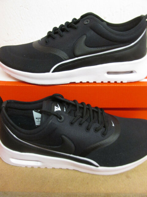 Womens Nike Air Max Thea Ultra 844926 001 Black Trainers UK 4.5   EU ... 09508d2b8