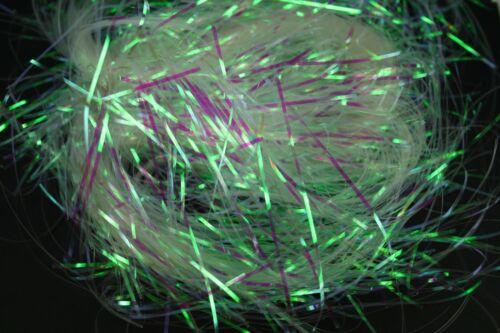 Easter Basket 2 oz Bag CLEAR Metallic Iridescent SHRED 1.5MM Gift Box Filler