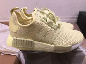 Details about Women's adidas NMD R1 Casual Shoes Yellow Tint/Yellow Tint/Ftwr White EF4277
