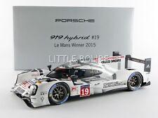 SPARK 1/18 PORSCHE 919 Hybrid LMP1 - Winner Le Mans 2015 0218190G