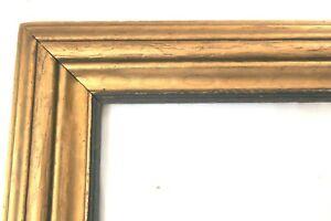 "BIG 1920 Antique Fit 16 X 20"" Gold Picture Frame CARVED Wood Fine Art ORNATE"