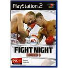 Fight Night Round 3 Sony PlayStation 2 Ps2 Game PAL Ma15