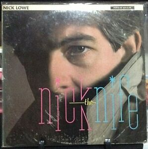 NICK-LOWE-Nick-the-Knife-Album-Released-1982-Vinyl-Record-Collection-US-pressed