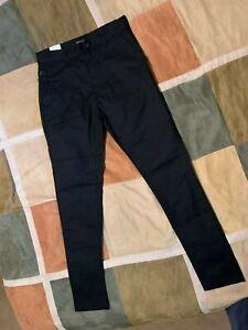 Zanerobe-black-golfshot-water-resistant-jogger-stretch-joggers-pants-30-mens-NEW