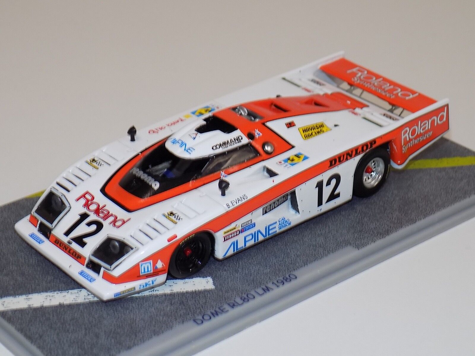 1 43 Bizarre Dome RL80 coche  12 1980 24 horas de LeMans BZ11