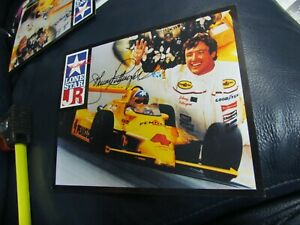 Johnny Rutherford autographed Photo Formula 1