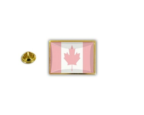pins pin/'s flag national badge metal lapel hat button vest canada pink