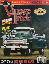 Vintage Truck Oct 2016 46 Chevy 53 Ford 34 Dodge GMC Tech Tips FREE SHIPPING sb