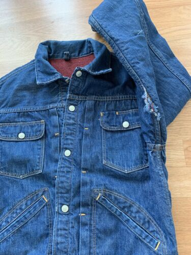 Vintage 1960's Foremost Denim Jacket Lined  Small… - image 1