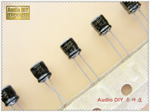 50pcs ELNA Black Gold R3A 10uF//25V Ultra-small volume electrolytic capacitor