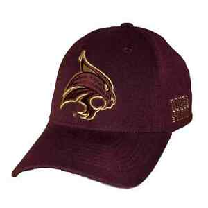 Texas-State-University-Bobcats-Adjustable-NCAA-Structured-Baseball-Ball-Cap-Hat