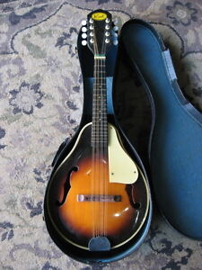 Details about Vintage Kent Mandolin PROJECT circa 1960s made in Japan MIJ  SUNBURST