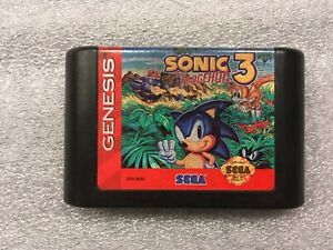Sonic The Hedgehog 3 Sega Genesis 1994 Cartridge Tested 10086010794 Ebay