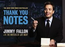 Thank You Notes by Jimmy Fallon (2011 Paperback)