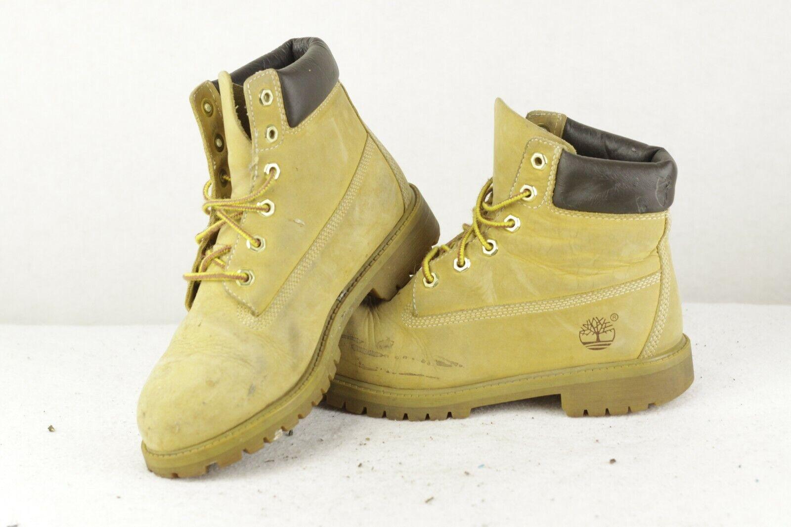 HERITAGE damen TIMBERLAND Leather Stiefel WATERPROOF Wheat 4.5UK P54    Spezielle Funktion