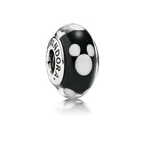 Pandora Murano Charm Disney Classic Mickey bead stamped Silver S925 ALE 791633 - <span itemprop=availableAtOrFrom>Luton, United Kingdom</span> - Returns accepted - Luton, United Kingdom