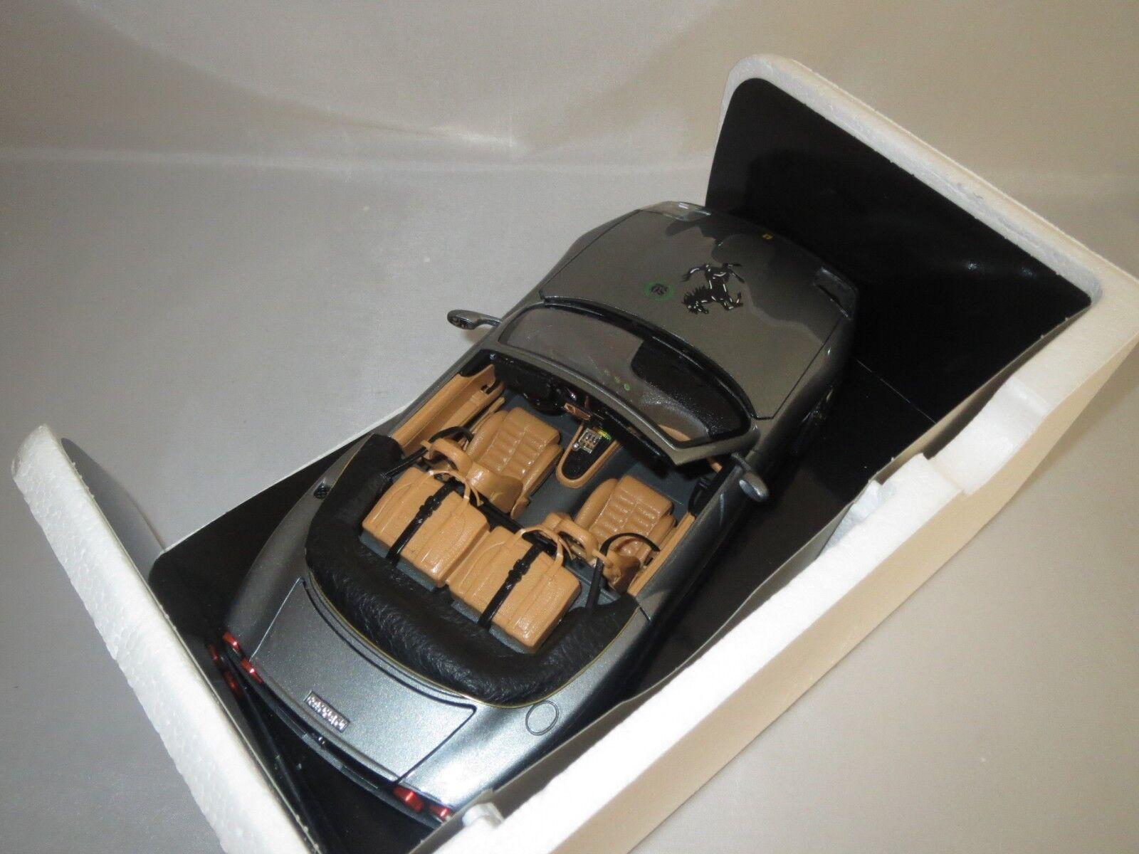 Trasformazione su base base base Bburago Ferrari Maranello Cabrio  1996   50j. FERRARI  1:18 VP. 12219a