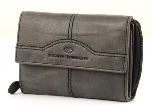 Tom Tailor rock leather purse donna denaro BORSA GRIGIO GREY