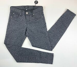 NWT-STS-BLUE-Women-039-s-Jeans-Leopard-Trousers-Ladies-Skinny-Pants-Size-0-1A12502