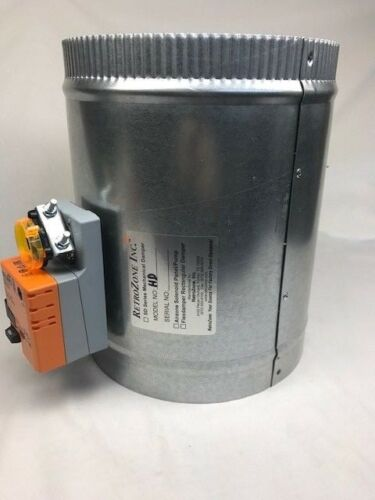 HD-04 inch Retrozone Belimo LMB24 Motorized 24v round zone control damper