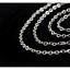 Feine-Edelstahl-Kette-Halskette-Edelstahlkette-Ankerkette-45-cm-2-mm-stark 縮圖 2