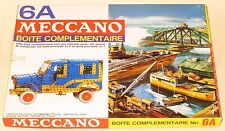 Meccano (France) 6A Complimentary Set Great Condition Factory Sealed MINT Boxed