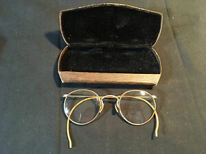 f08ecc416ed4 Old Vtg Collectible Wire Hibo 1/10 12K Gold Filled Eye Glasses ...
