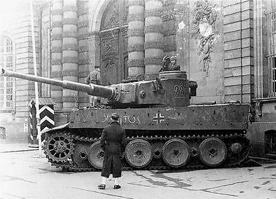 WW2 Photo German Tiger I Tank  France 44 WWII Germany World War Two Pzkpfw. VI