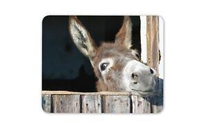 Cheeky-Donkey-Mouse-Mat-Pad-Horse-Kids-Cute-Animal-Cadeau-Ordinateur-PC-8260