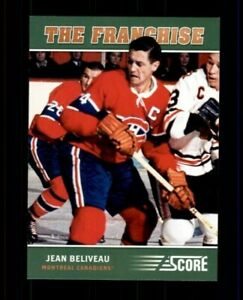 2012-13-Score-Franchise-Original-Six-OS4-Jean-Beliveau-ref-97957