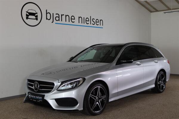 Mercedes C250 d 2,2 AMG Line stc. aut. 4Matic billede 0