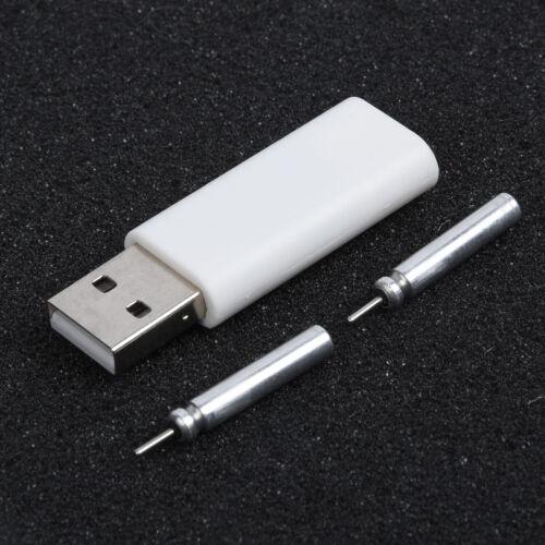 Fischen Leuchtend Boje Wiederaufladbar CR425 Batterie mit 2 Löcher USB Konverter