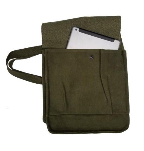 NEW Crossbody Messenger Bag School Shoulder John Ownbey Vintage Satchel Canvas