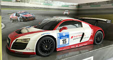 R/C RADIO CONTROL BATTERY OPERATED AUDI SPORT R8 LMS CAR 27.145MHZ SCALE 1:18
