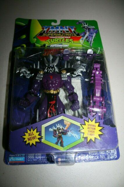 Teenage Mutant Ninja Turtles TMNT Supermutant SHREDDER  1994 playmates Rare New