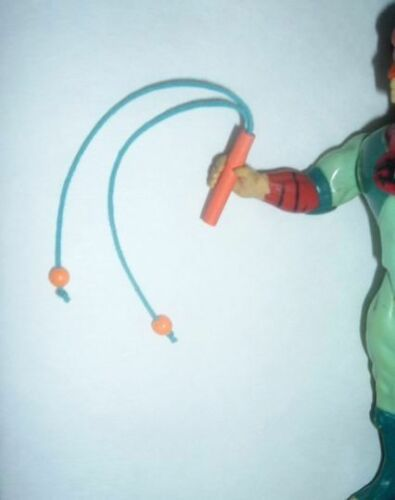 ThunderCats /'Young Tygra/' Hand Made Toy Whip NEW Smaller Orange Version Weapon